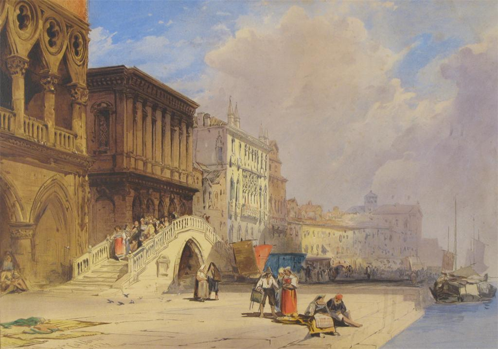William Callow Paintings For Sale