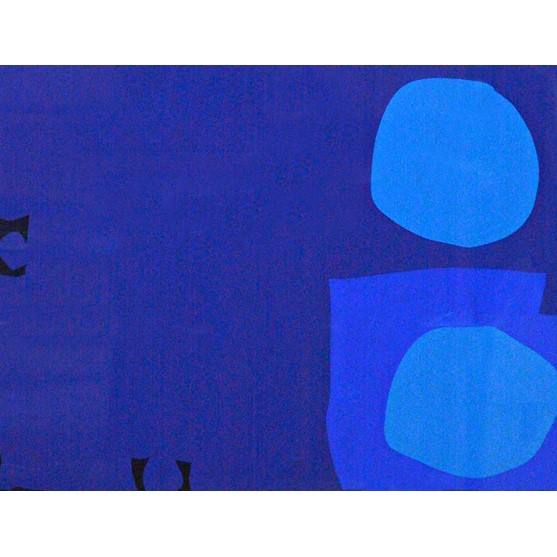 Patrick Heron (1920-1999), 4 Blues, 2... Image