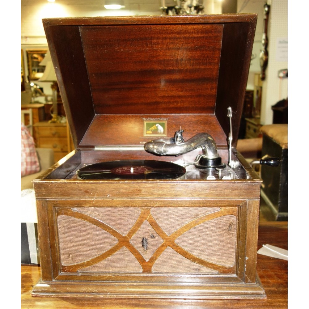An Early 20th Century Hmv Gramophone Bellmans Auctioneers Valuers