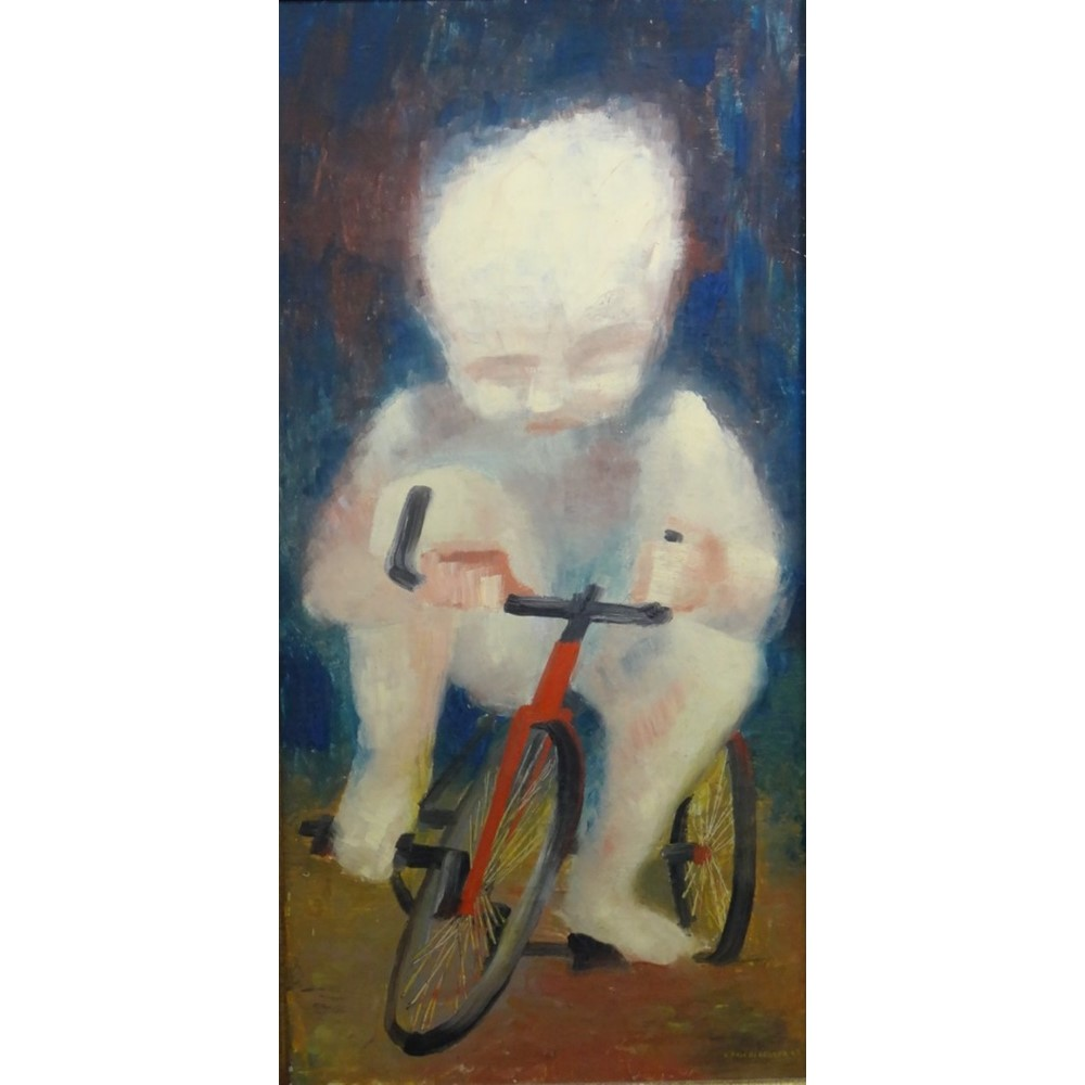 Klaus Friederberger (b.1922), Child on a... Image