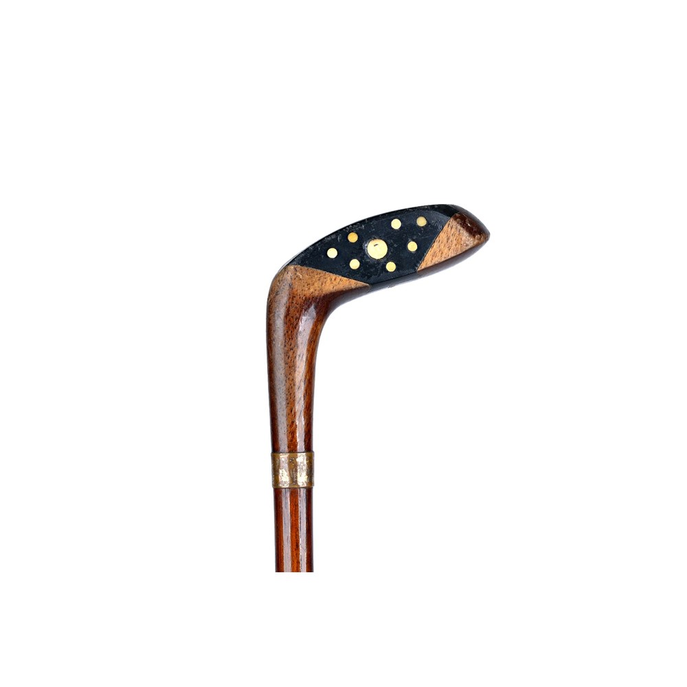 An ash and hickory novelty 'golf club'... Image