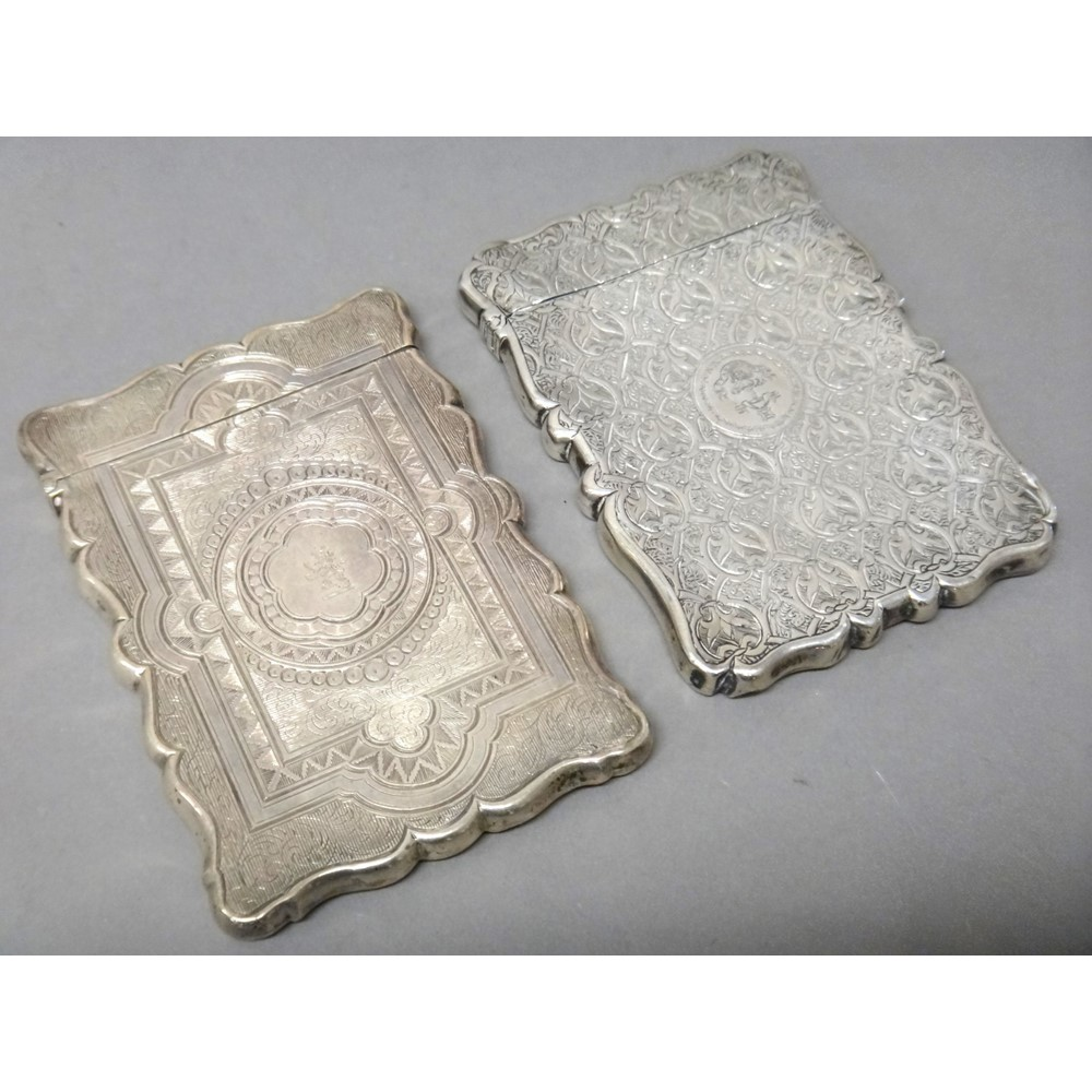 Silver, comprising; a Victorian shaped... Image