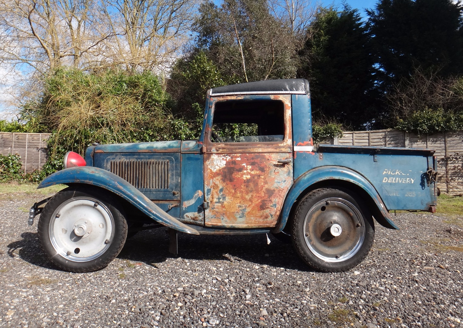 A 1933 American Austin pick up truck,... Image