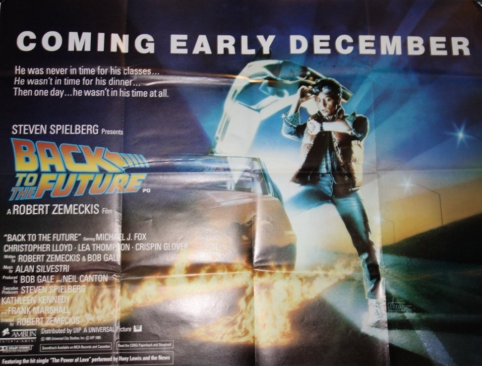 Film Posters; 'Back to The Future',... Image