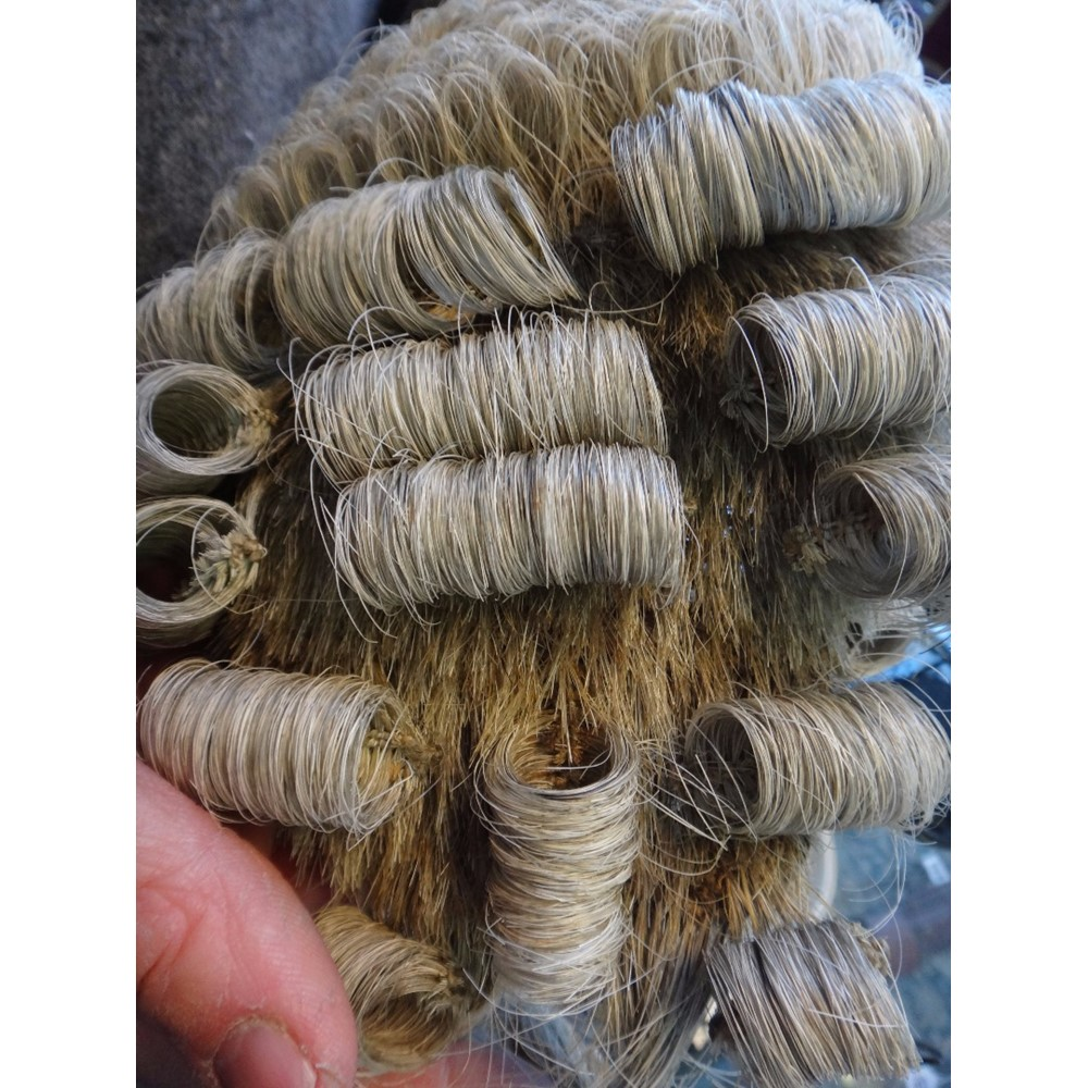 A barrister's wig, late 19th/early 20th... Image
