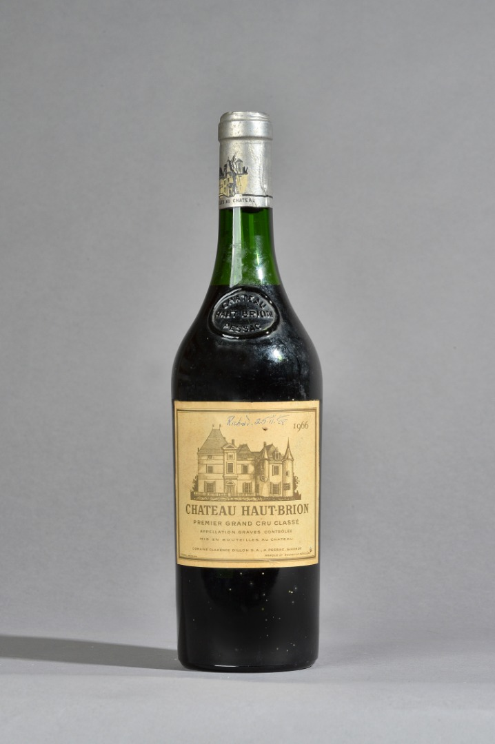 One bottle of 1996 Chateau Haut Brion,... Image