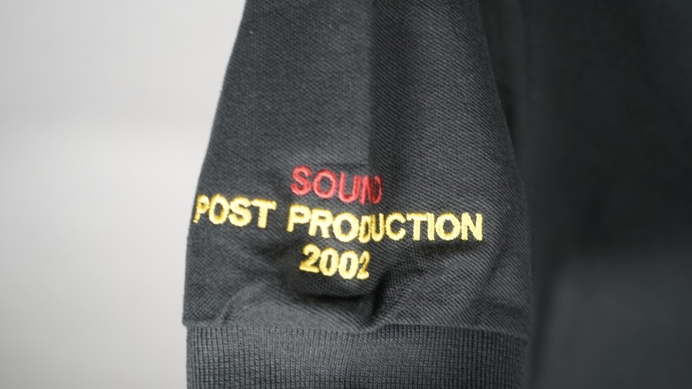 'HARRY POTTER AND THE CHAMBER OF SECRETS', (2002) A POST PRODUCTION SOUND CREW POLO SHIRT:  a... Image