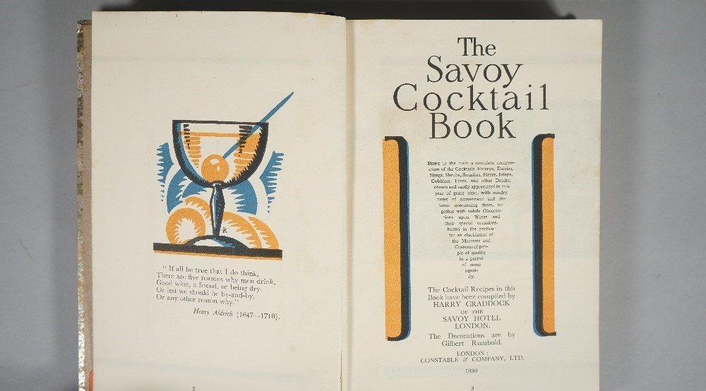 The Savoy Cocktail Book ... The Cocktail Recipes in this Book have been compiled by Harry... Image