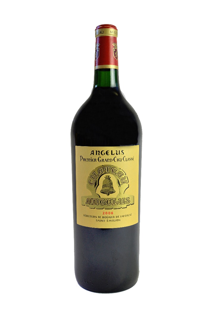 One magnum of Chateau Angelus 2006,... Image