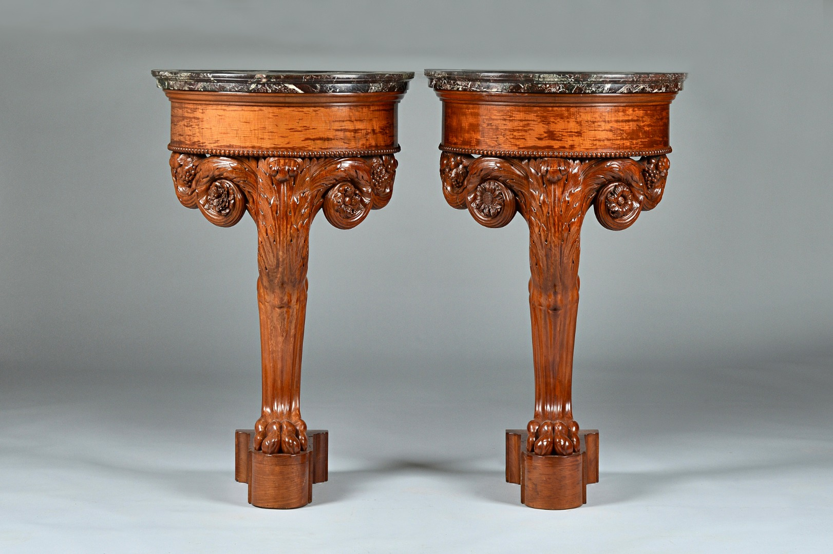 A pair of Louis Philippe mahogany... Image