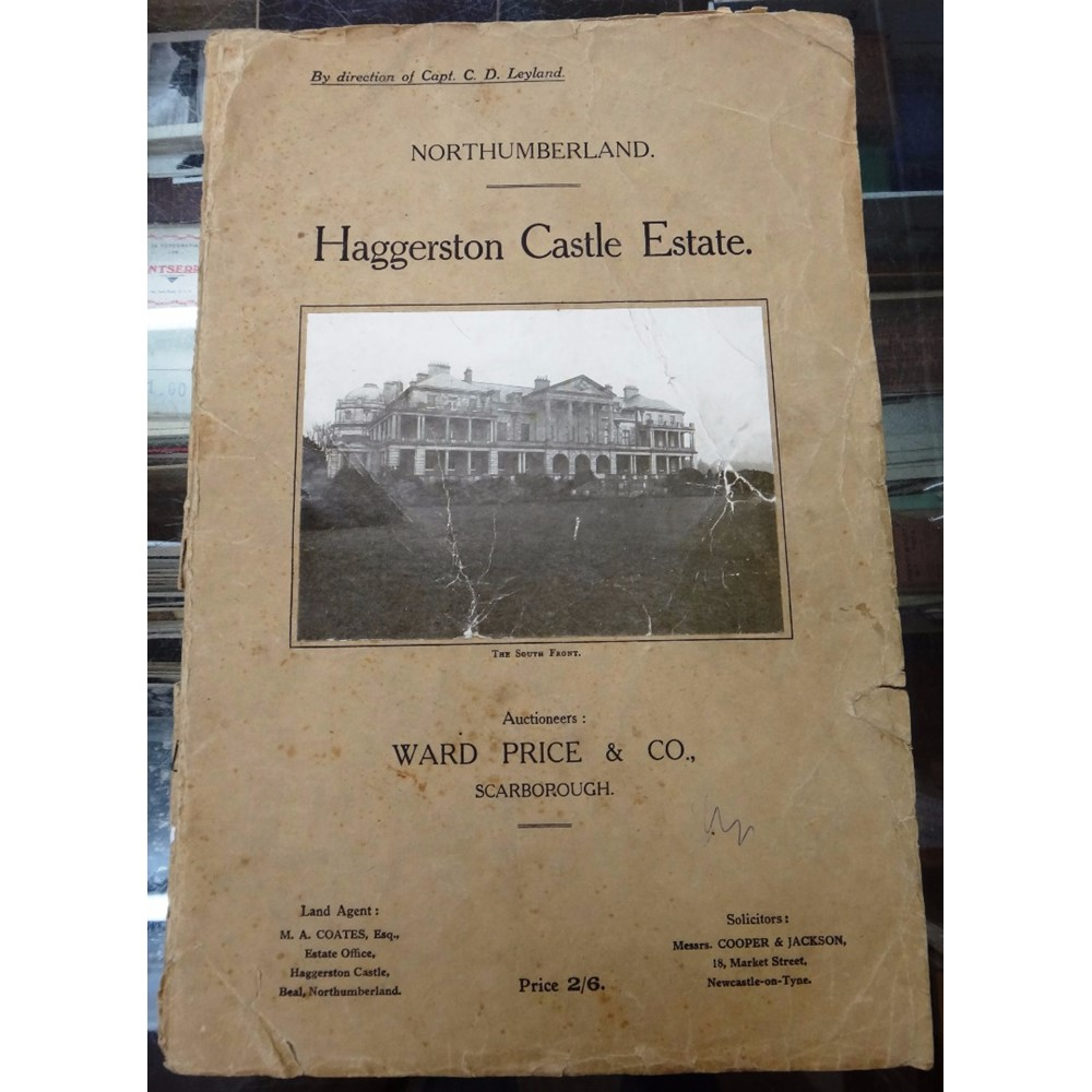 HAGGERSTON CASTLE ESTATE, Beal,... Image