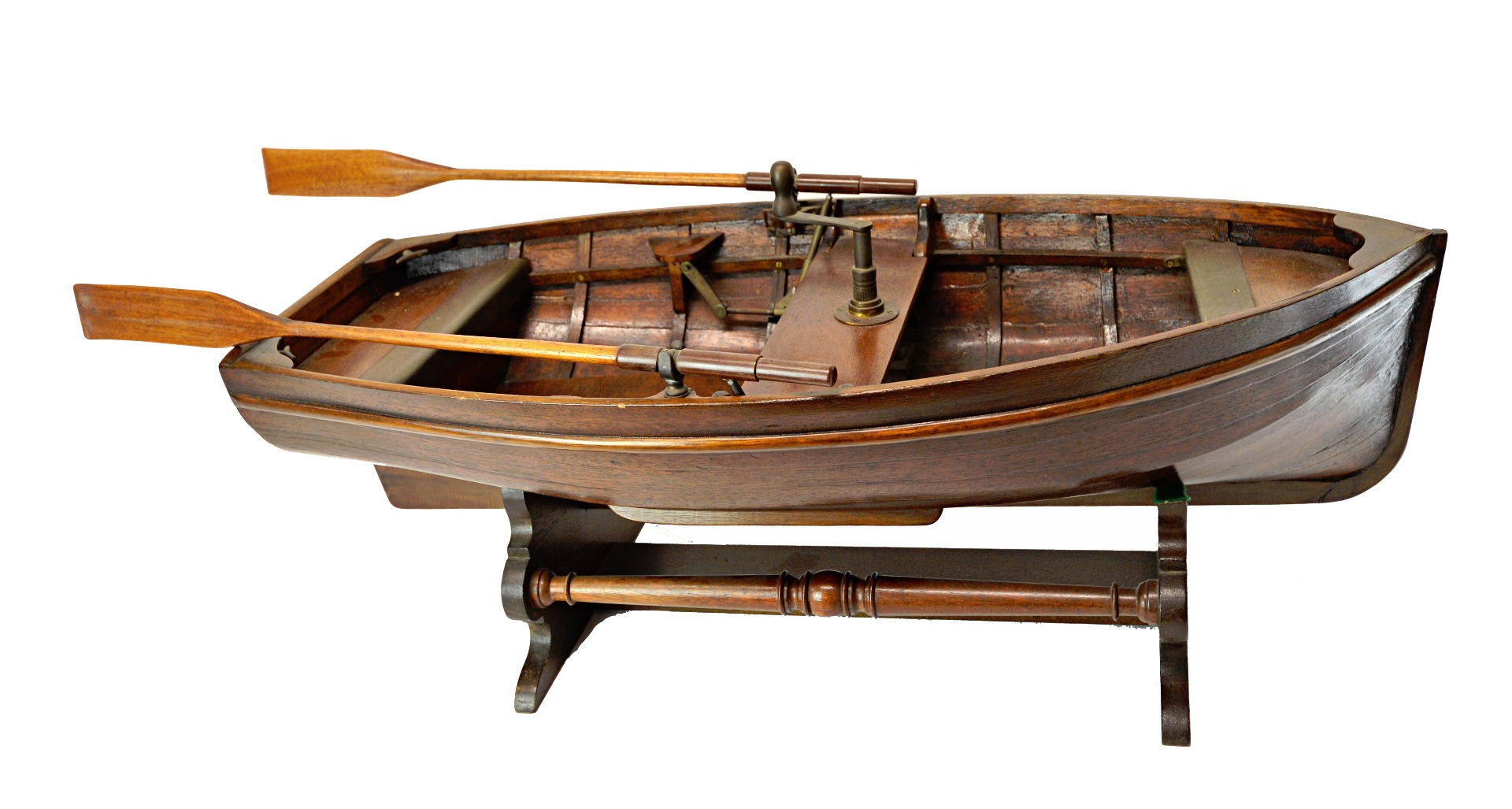 A model rowing boat, 'Badger', of... Image