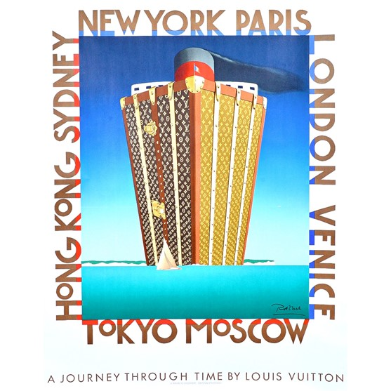 A journey through time by Louis Vuitton,... Image