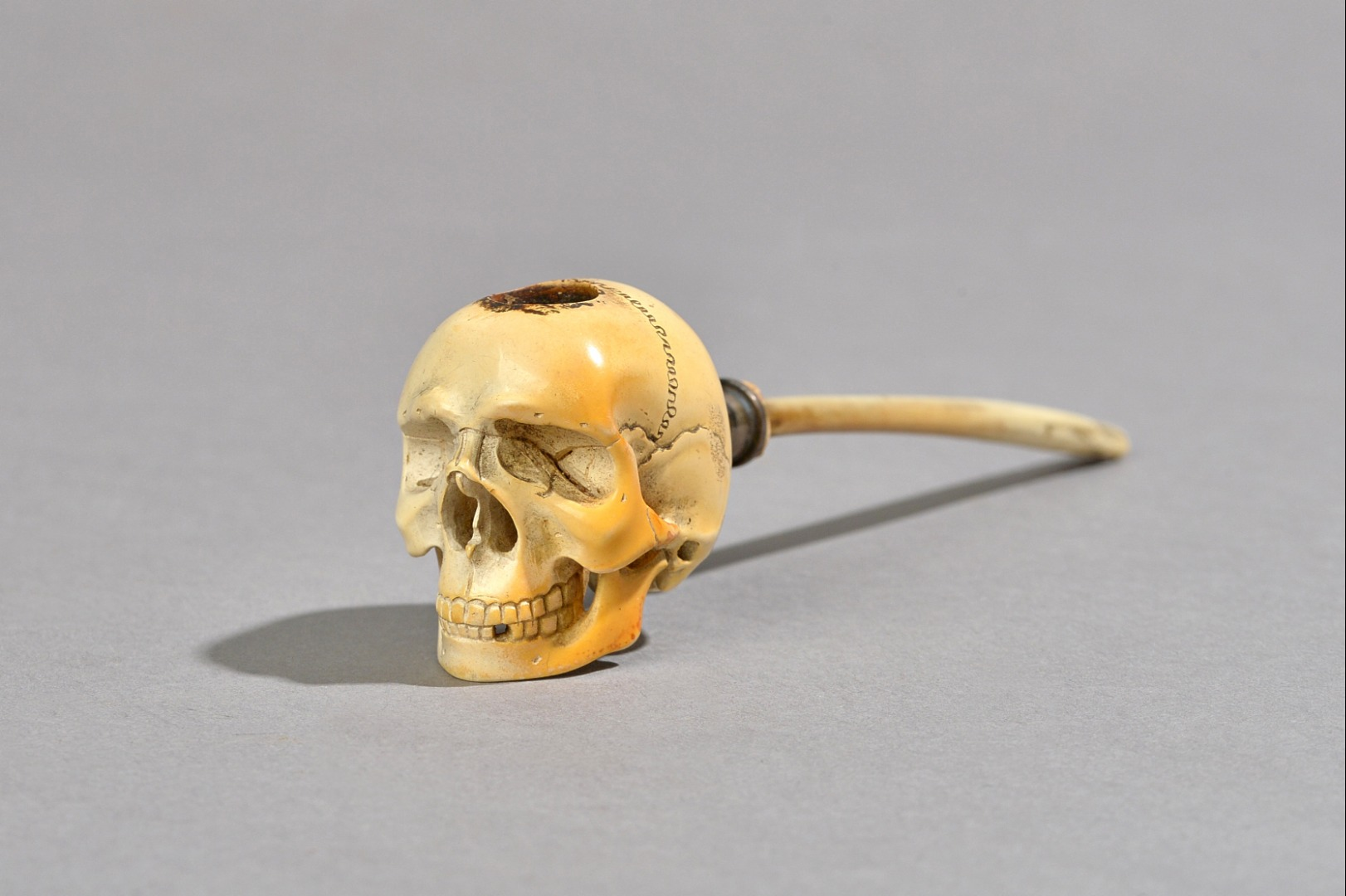 A Meerschaum pipe 19th century, the bowl... Image