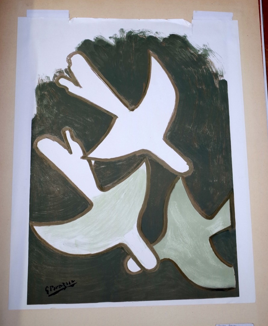 Georges Braque (French 1882-1963), Sur... Image