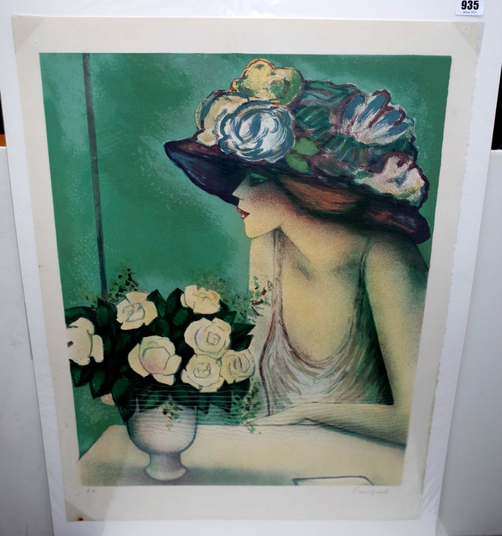 Jean-Pierre Cassigneul (French 1935- ),... Image