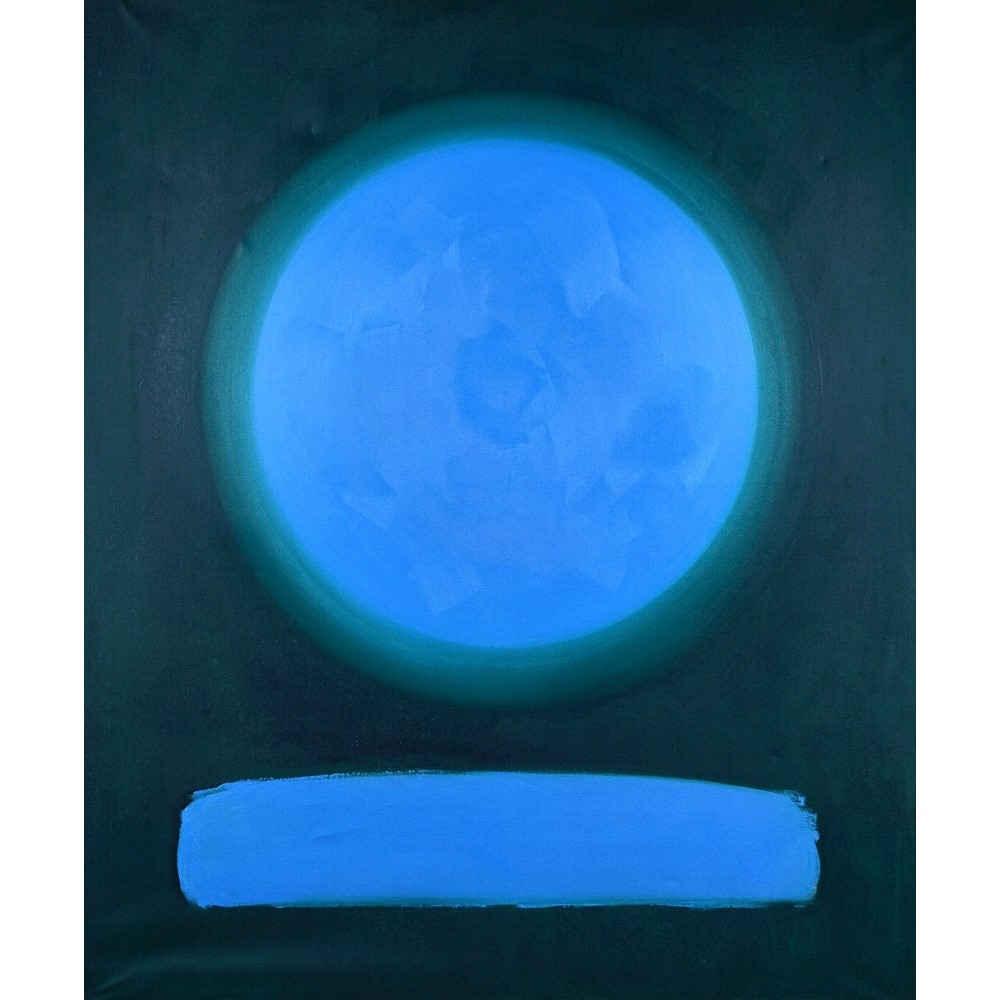 Peter Denmark (20th century), Abstract, oil on canvas, signed and dated 87 on reverse, 183cm x... Image