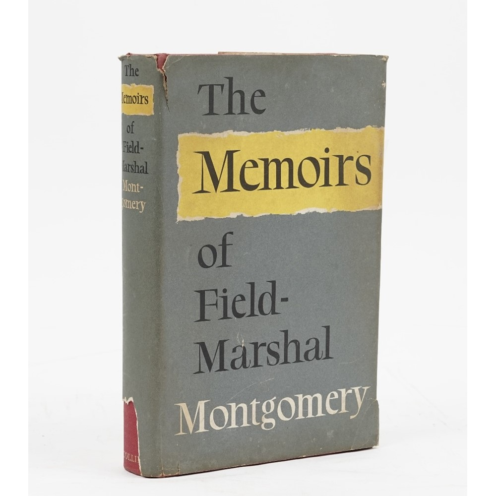 """MONTGOMERY, Bernard Law, 1st Viscount Montgomery of Alamein (1887-1976) [""""Monty""""]. A one-page... Image"""