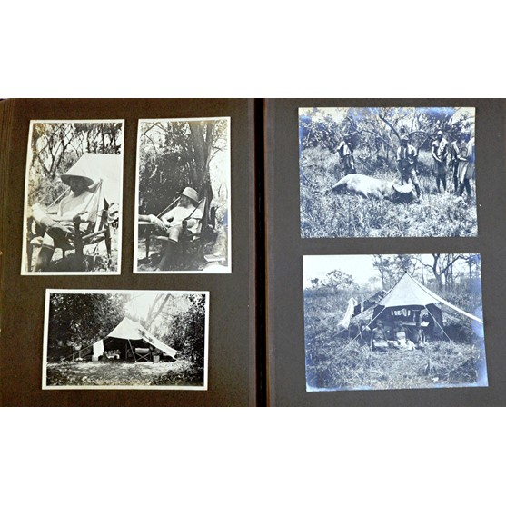 BIG GAME HUNTING - 2 albums containing... Image