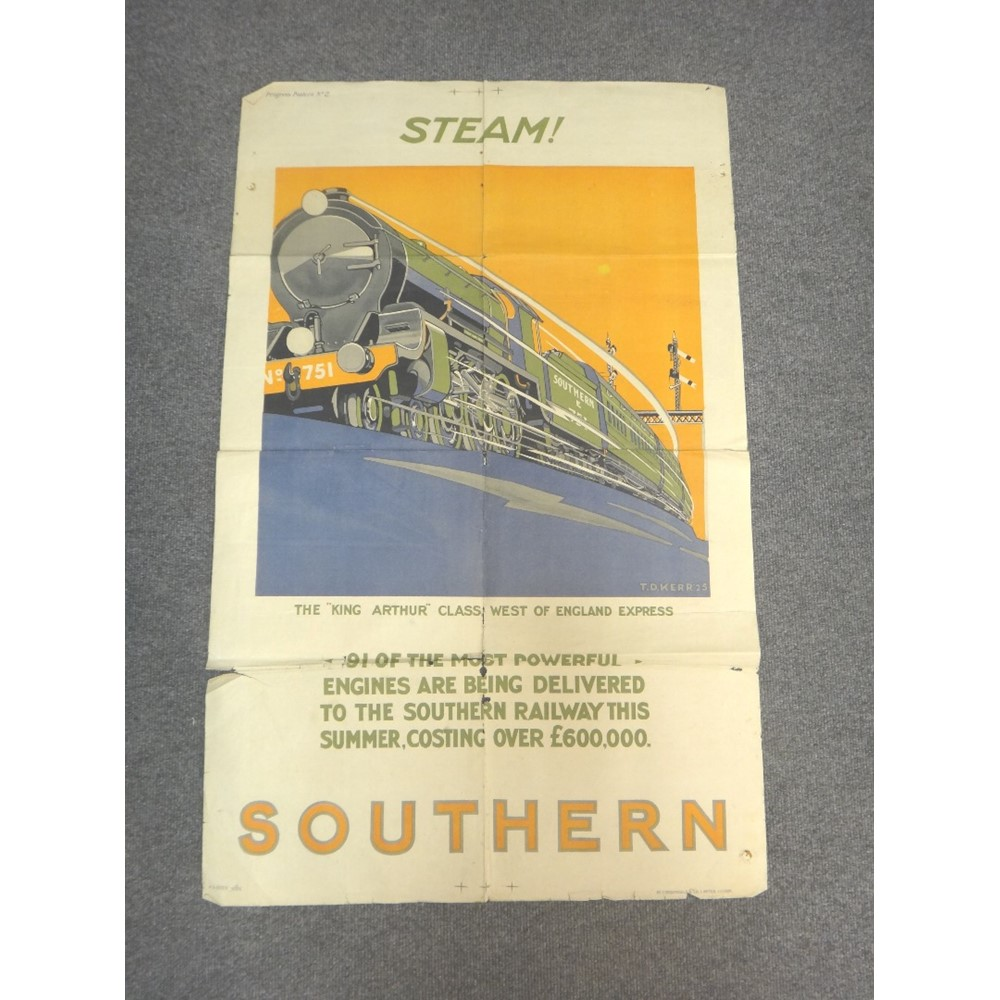 A pair of Railway 'Progress Posters' -... Image