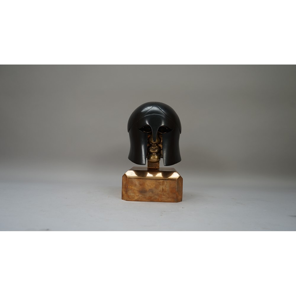 Miguel Berrocal (Spanish 1933-2006), 'Hoplite', 1981-1982, bronze with black patina, limited... Image