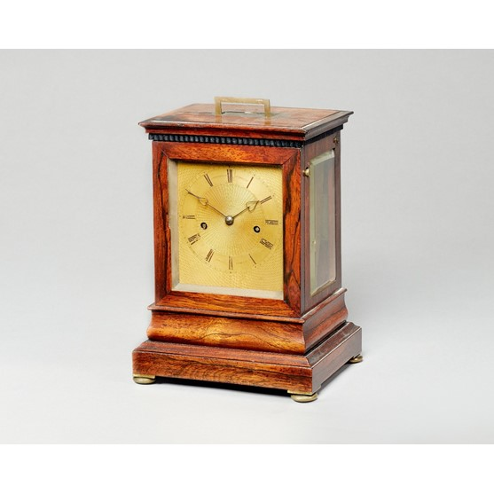 A William IV  rosewood mantel clockBy... Image