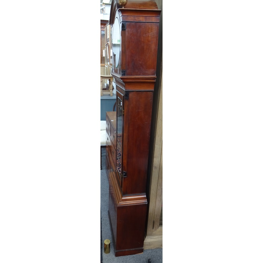 A mahogany Regulator By Rawsthorne, Clitheroe Circa 1845A mahogany Regulator By Rawsthorne,... Image