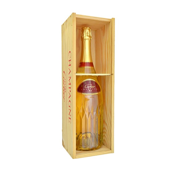 A magnum of Cartier champagne, 100th... Image