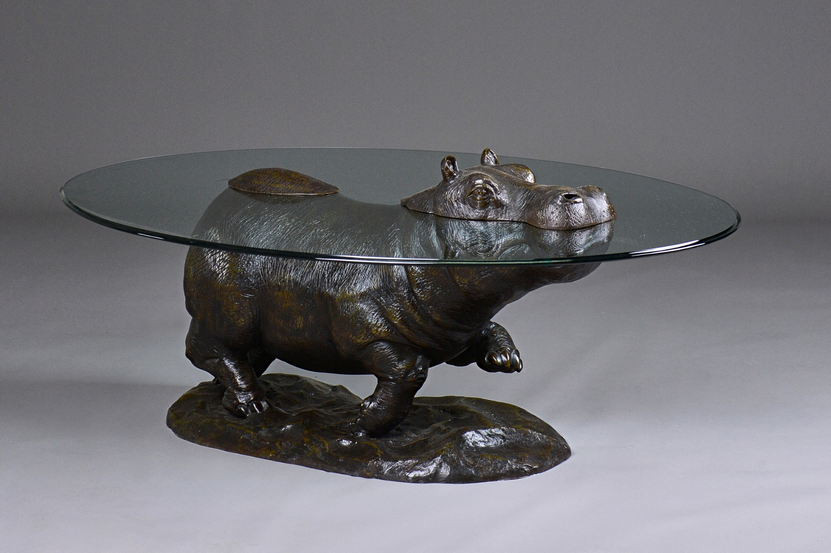 Mark Stoddart; a 20th century bronze and... Image