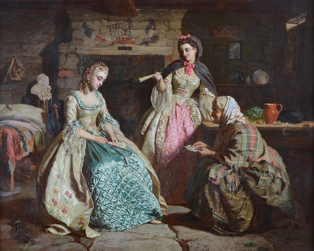 Ernest Gustave Girardot (French, 1840-1904), The Fortune Teller, signed and dated 'E G Girardot... Image