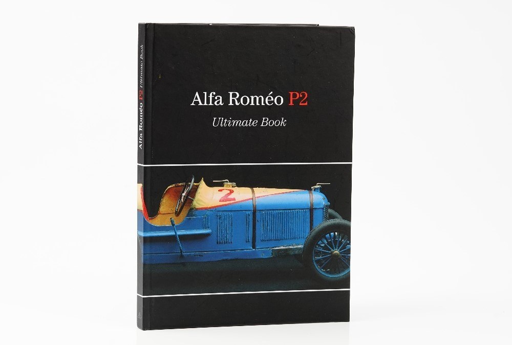 Alfa Romeo P2 tinplate toy car by C.I.J. (Compagnie Industrielle du Jouet) France, circa 1929,... Image