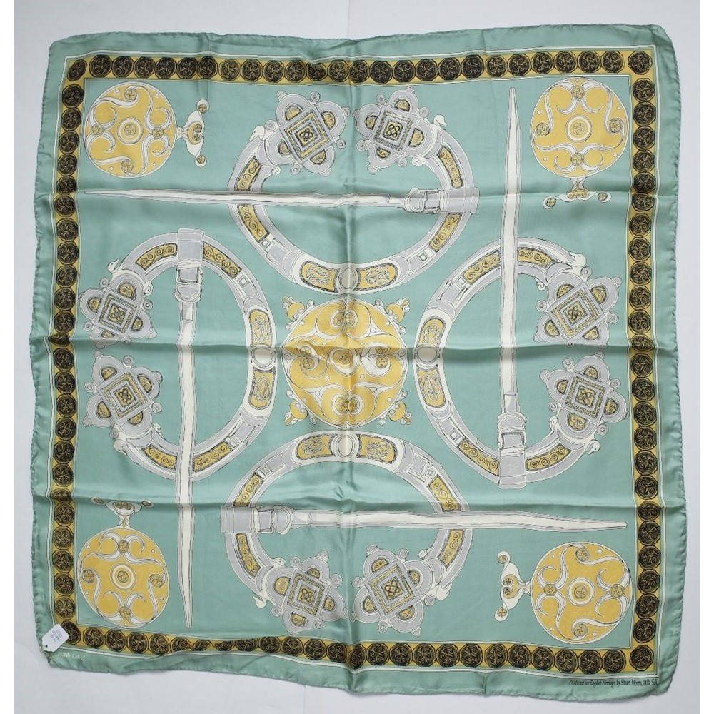 A BOAC VC 10 advertising silk scarf and a large collection of silk scarves and handkerchiefs,... Image