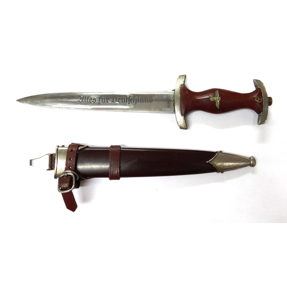 A German SA dagger with double edged... Image