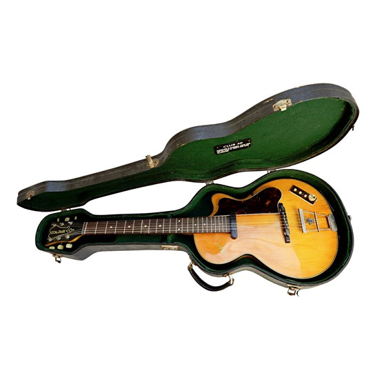 A Hofner 'club 40' guitar, 1960's, with... Image