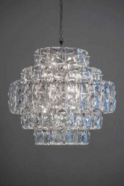 A German 1960s Kinkeldey Lighting five... Image