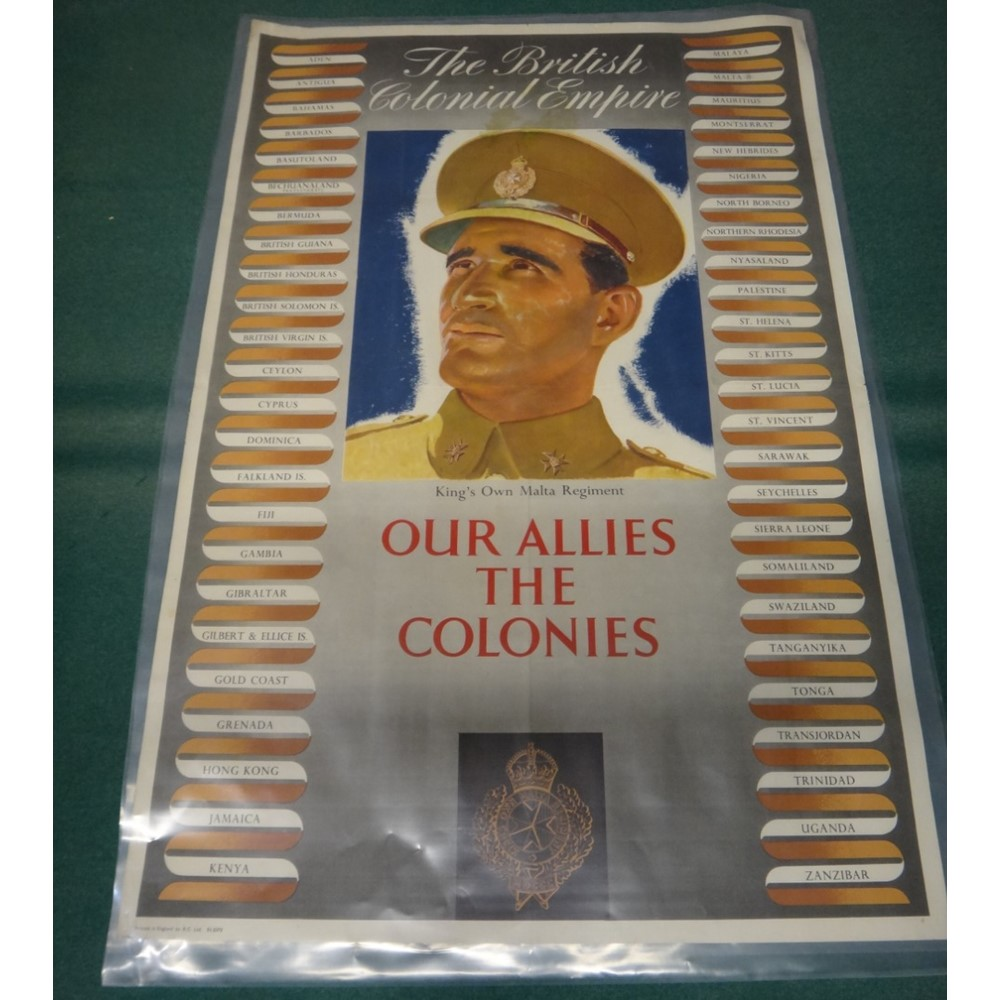 BRITISH COLONIAL EMPIRE POSTERS -  'Our... Image