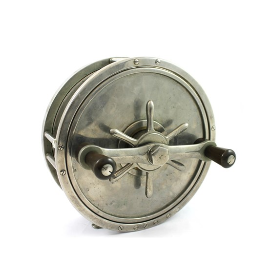 "A Hardy Bros 9"" big game fishing reel,... Image"