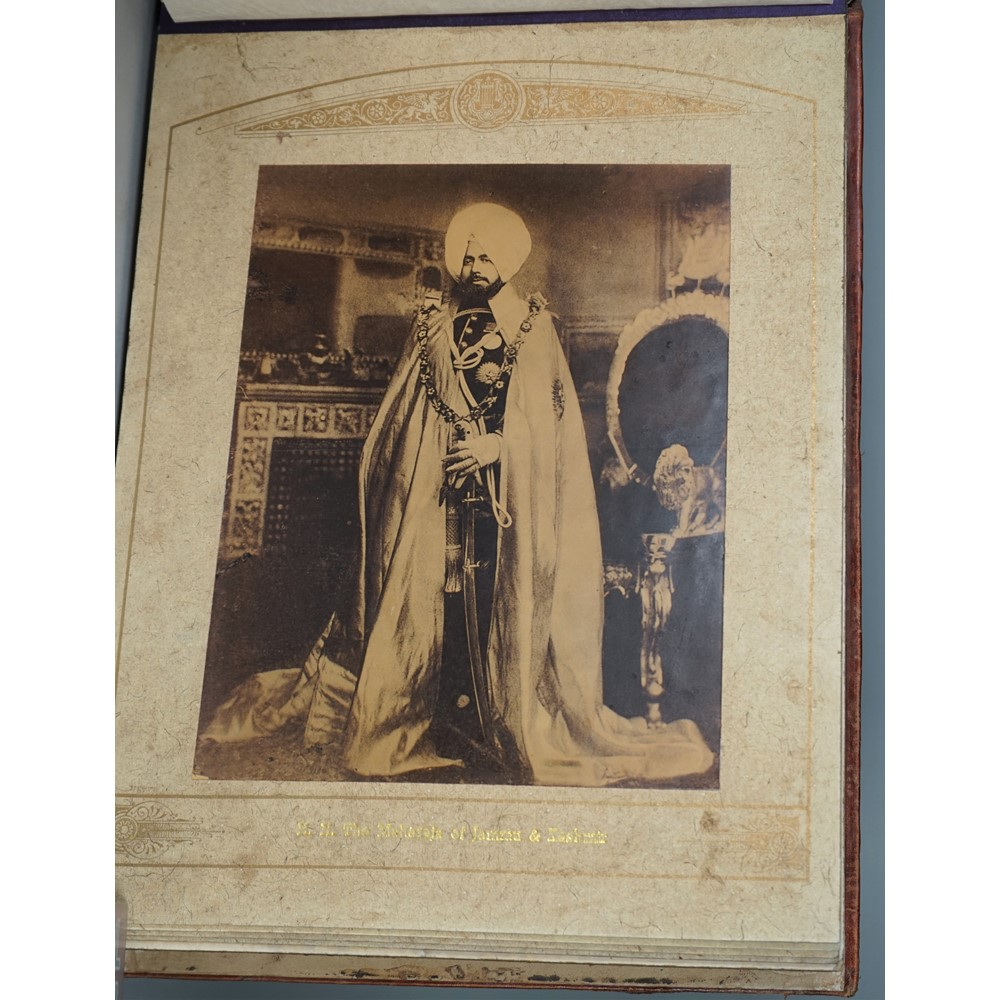 LA LAAMIGHAND, Jaipur State Photographer, 1930,  'H.H. The Maharajas of India, 1930 A.D'  an... Image