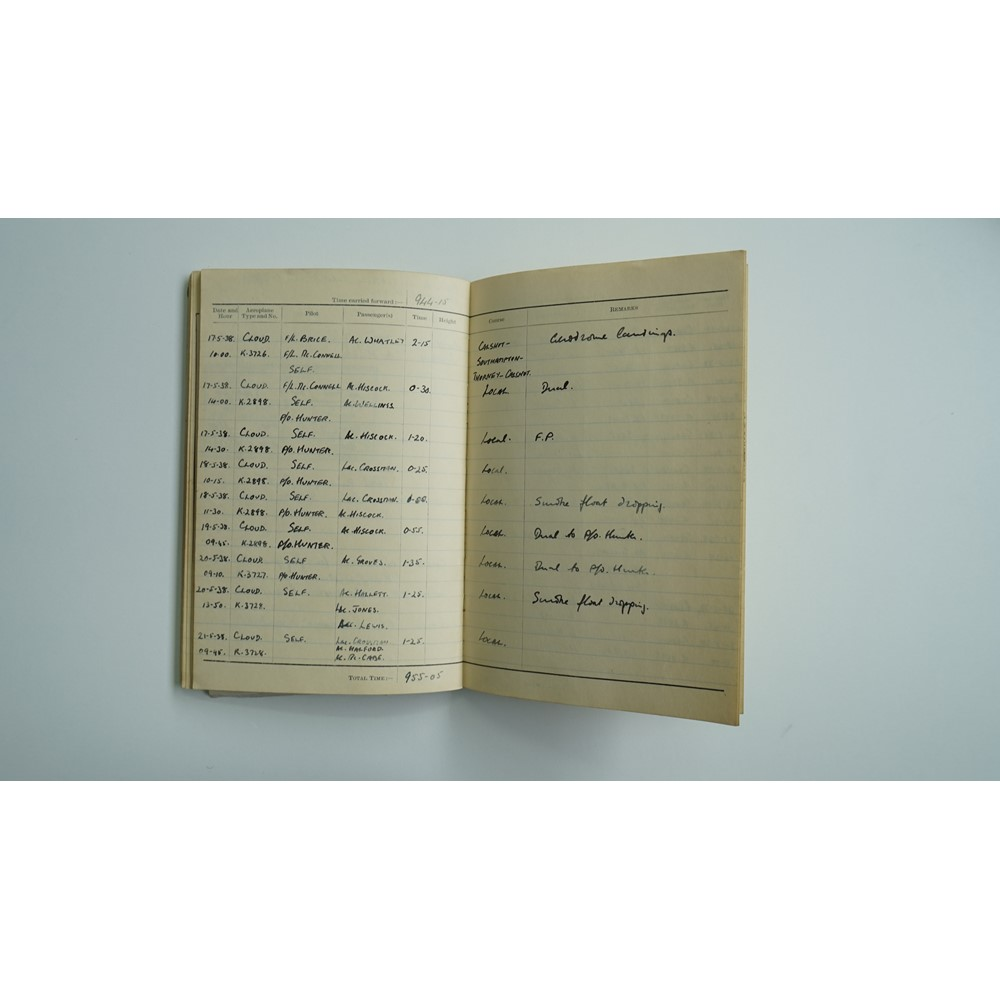 ROYAL AIRFORCE / B.O.A.C:  a collection of Pilot's General Notes, Pilot's Flying Log Books,... Image