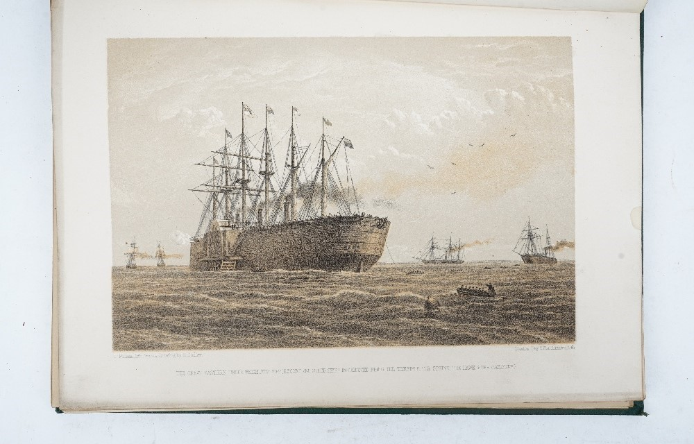 RUSSELL, William Howard (1820-1907).  The Atlantic Telegraph. London: Day & Son Limited, [c.... Image