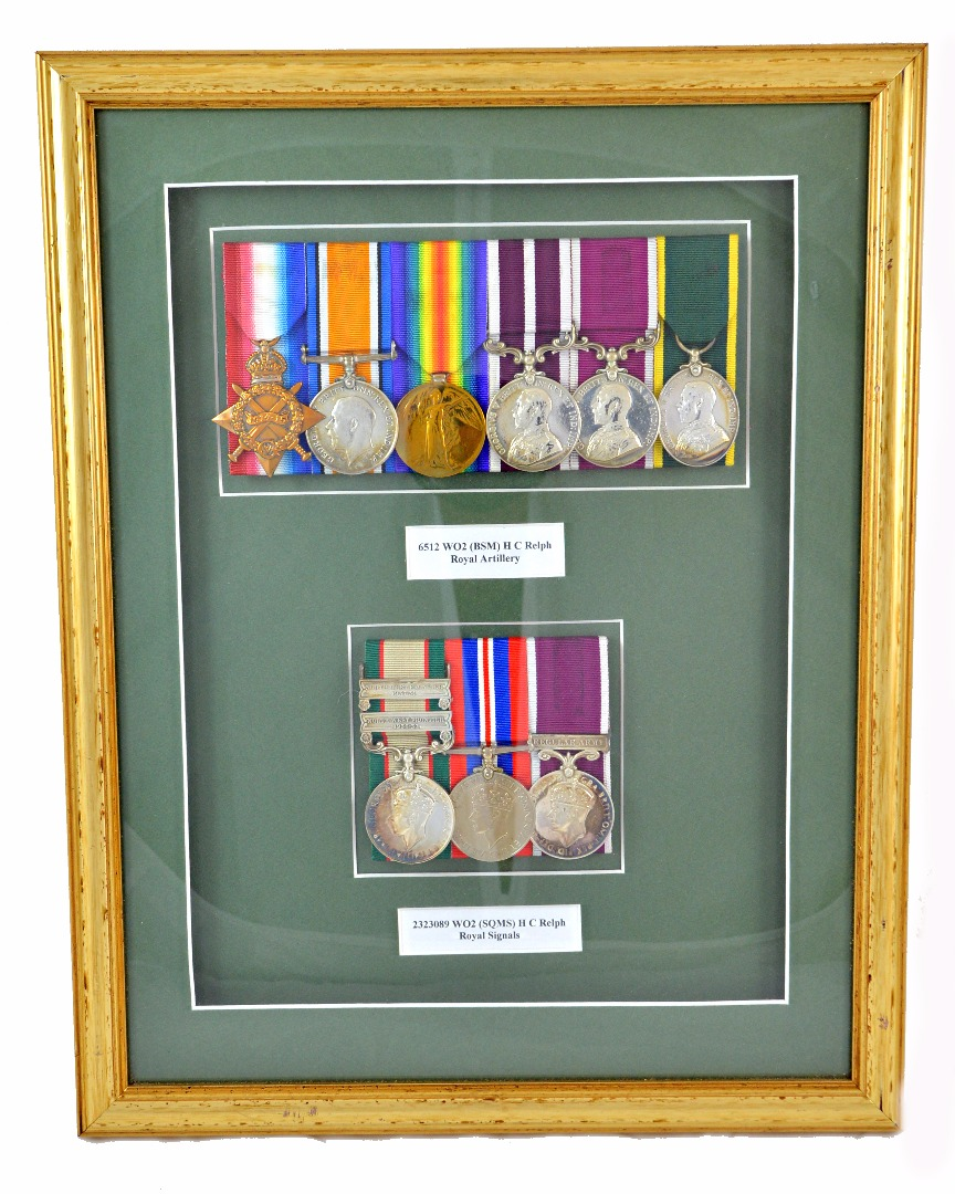 First World War medal group to 6512 WOZ... Image