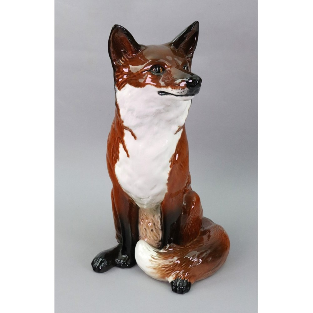 A Beswick figure of a fox, model no.... Image
