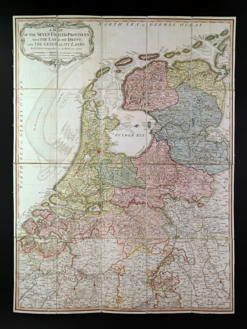 FADEN (William) A Map of the Seven... Image