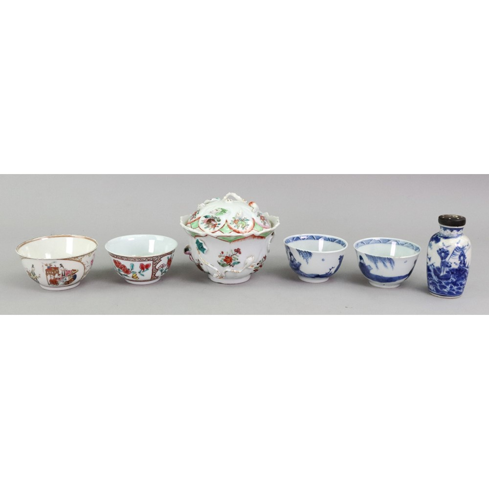 A group of Chinese porcelains, 18th/19th... Image
