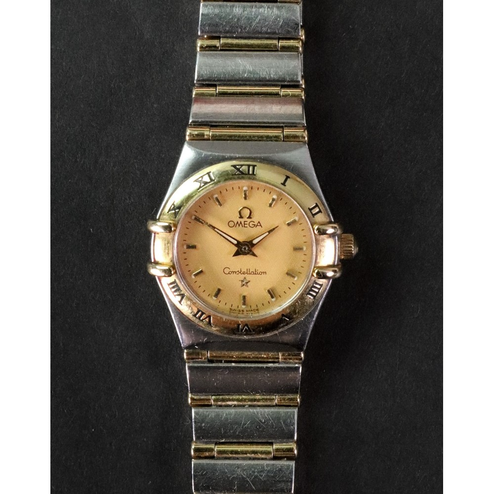 Omega, Constellation, a lady's stainless... Image