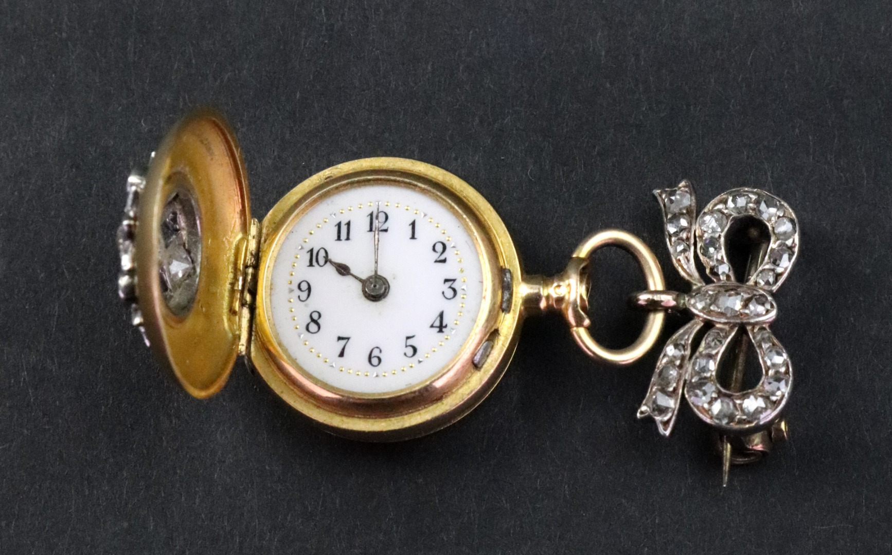 An early 20th century Swiss 18ct gold... Image