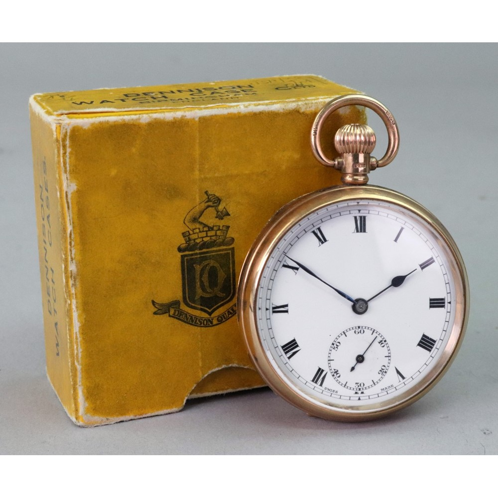 Admiral, a 9ct gold cased open face... Image