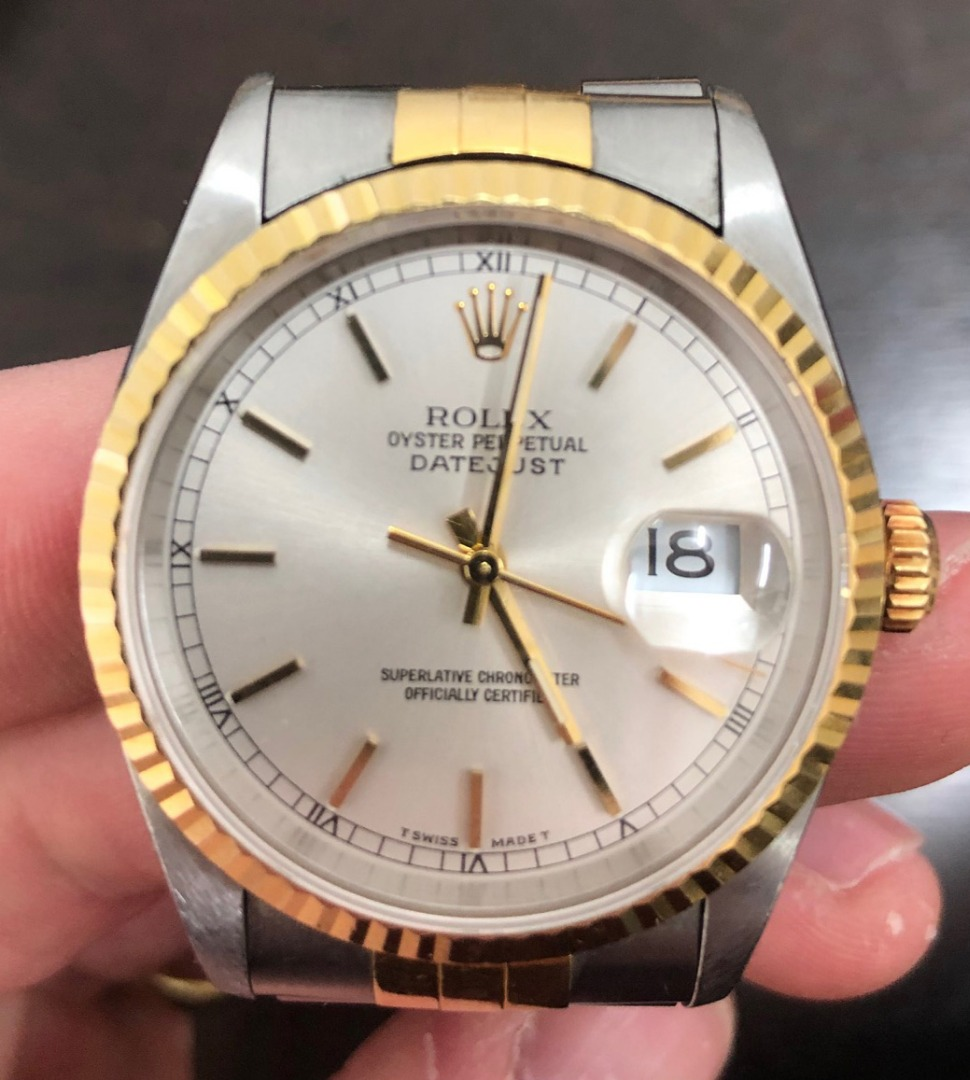 Rolex; Oyster Perpetual Datejust, a... Image
