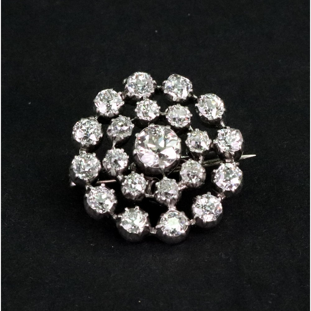 A Victorian diamond target cluster... Image