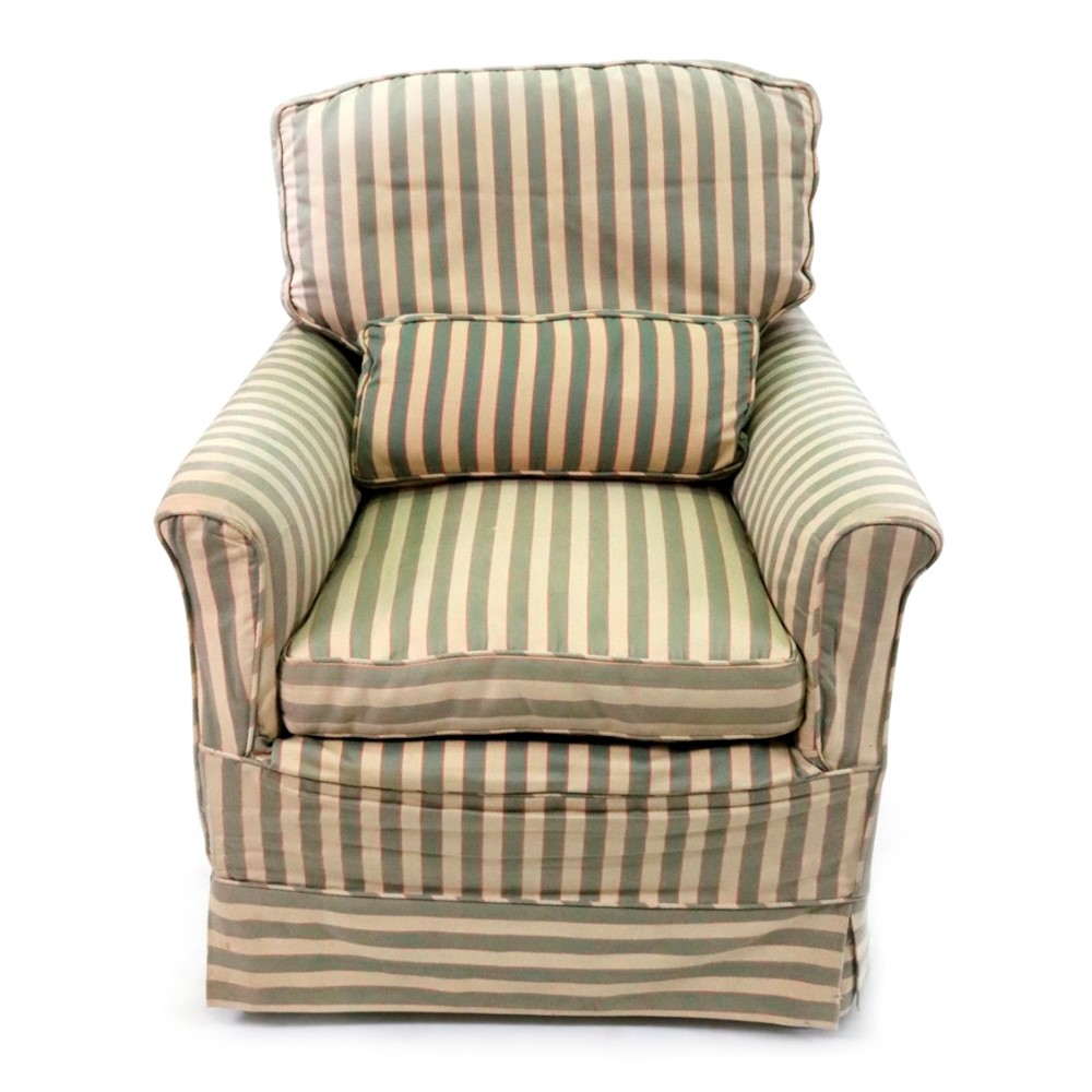 Howard and Sons; an upholstered... Image
